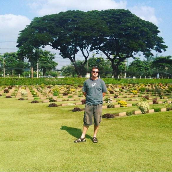 War cemetery at Don Rak, Thailand